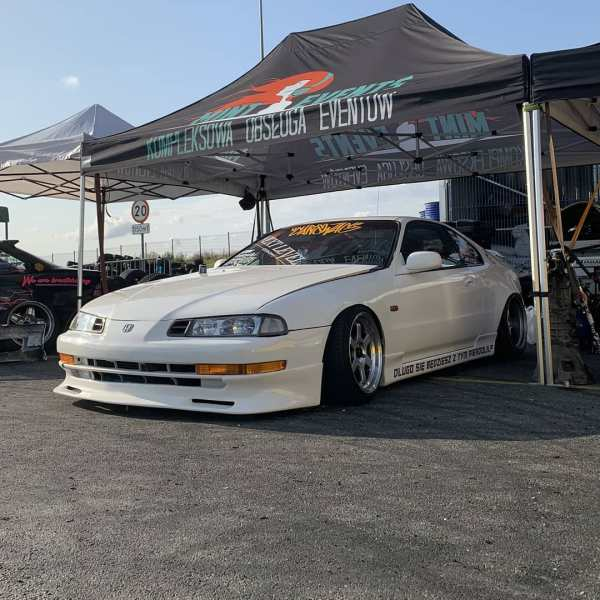RWD Honda Prelude with a turbo Mercedes M112 V6