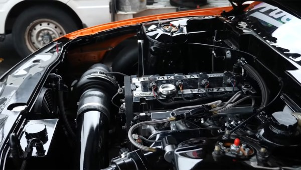 Nissan S15 with a turbo Cosworth YB inline-four