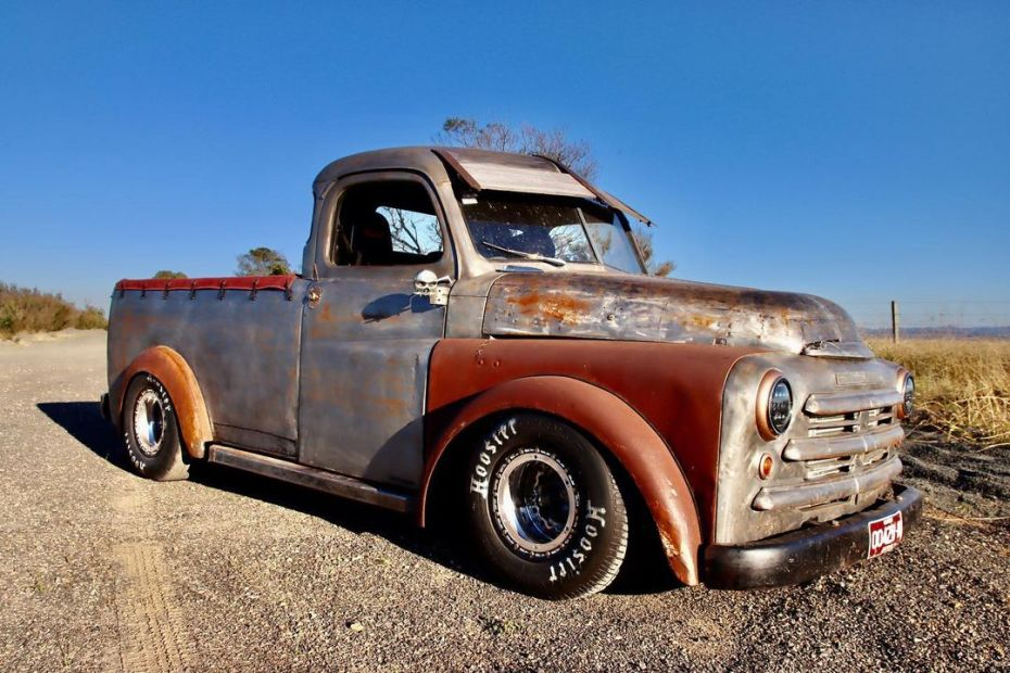 1948 Dodge truck with a turbo Barra inline-six