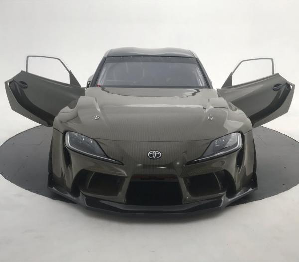 Supra Mk5 with a turbo 2JZ and carbon kevlar body