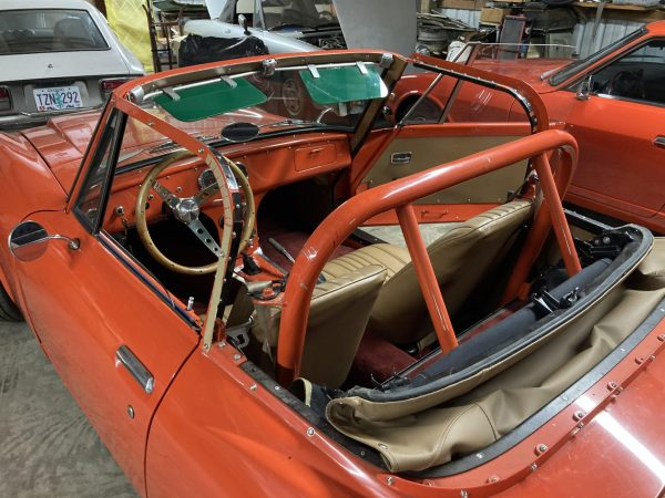 1968 Datsun 1600 with a turbocharged 2.3 L Ford inline-four