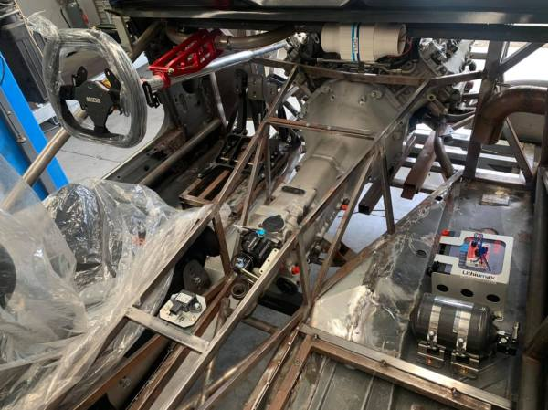 BMW E36 M3X race car being built by Mitchell Race Xtreme with a S85 V10