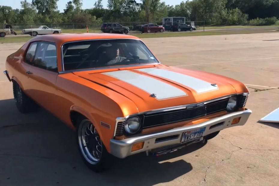 1974 Chevy Nova with a turbo 13B two-rotor