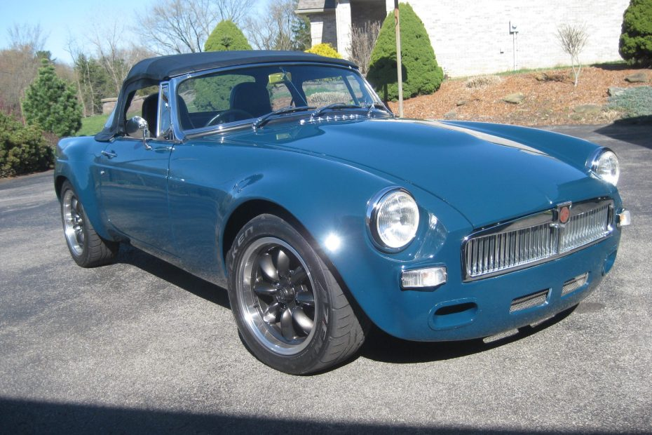 1967 MGB with a supercharged Ecotec inline-four