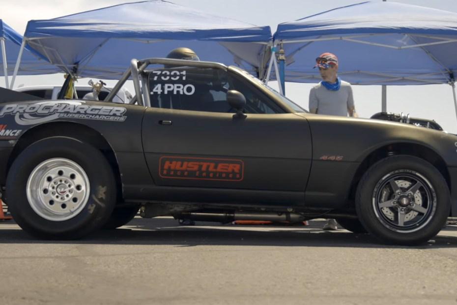 1990 Miata with a supercharged 445 ci LSx V8