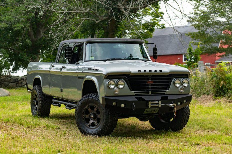 1964 Dodge Power Wagon with a supercharged Hemi V8