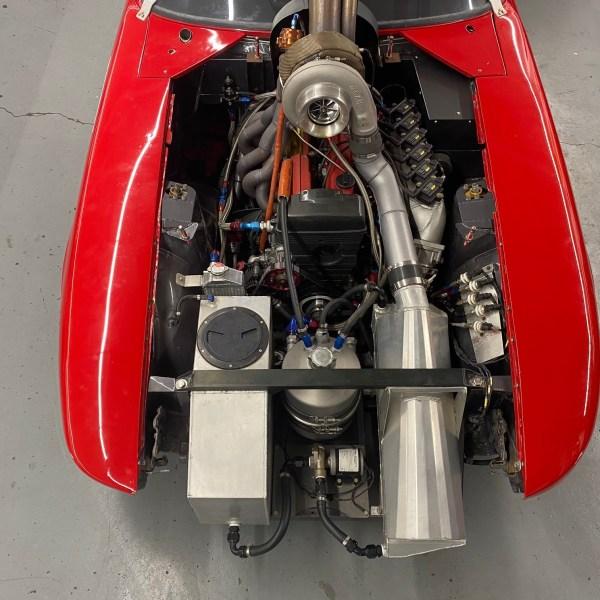 1972 Datsun 240Z race car with a 2JZ-GTE inline-six