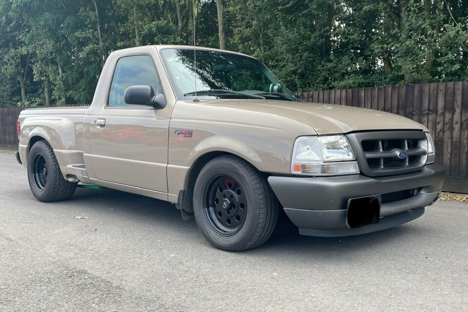 1999 Ford Ranger with a supercharged BMW M50 inline-six