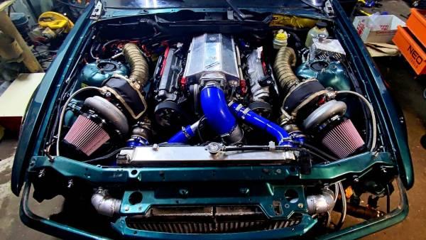 BMW E36 built by Alek Projekt with a Twin-Turbo 1UZ V8