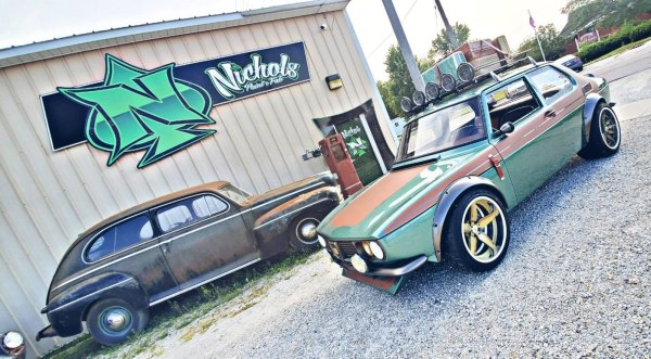 1969 Saab built by Nichols Paint & Fab with a turbo EcoBoost inline-four