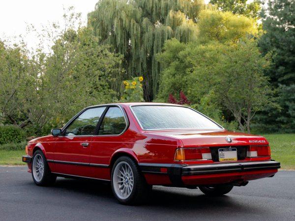 1985 BMW 635CSi with a LS2 V8