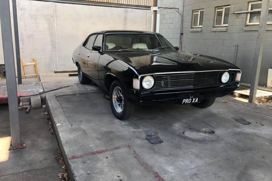 Ford Falcon with a turbo Barra inline-six