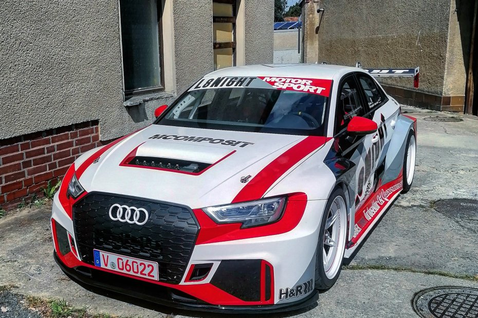 L8-Night Audi A3 with a turbo VR6