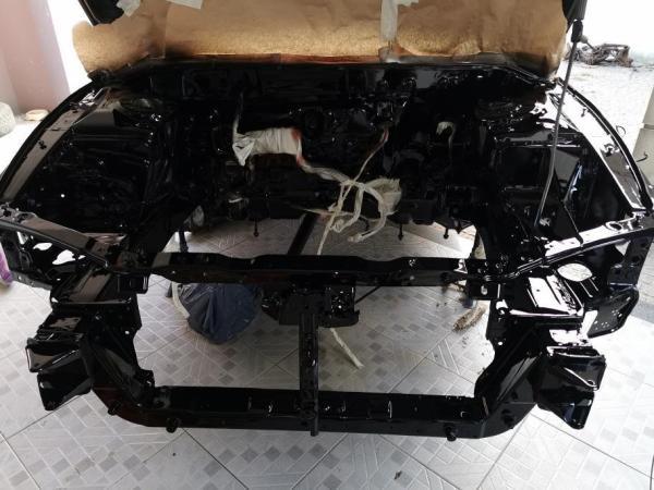 Mitsubishi Eclipse with an Evo powertrain