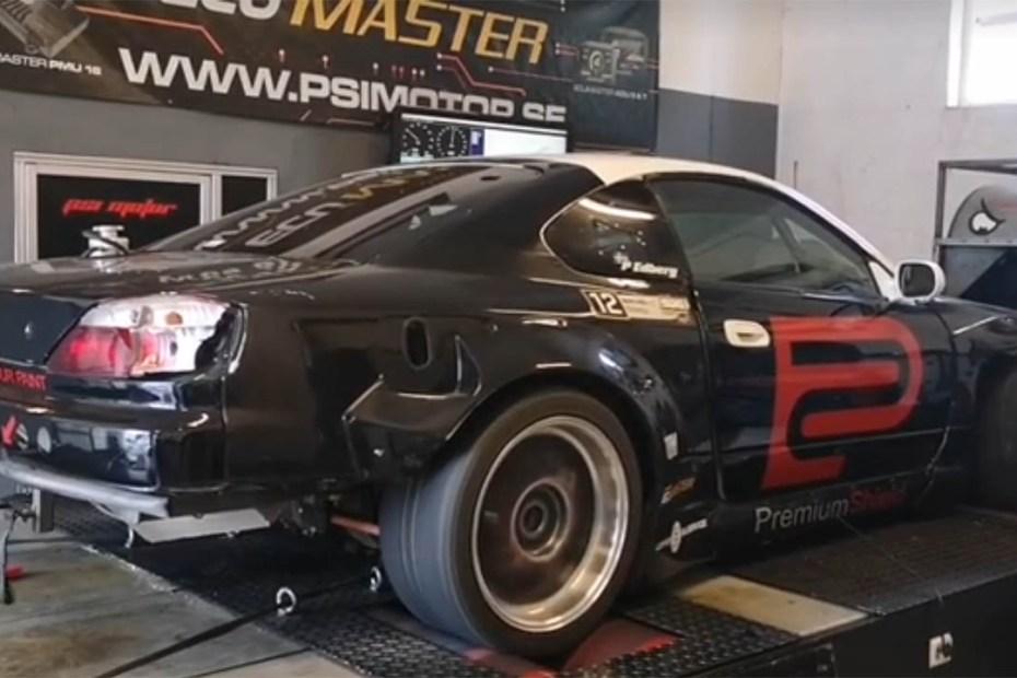 Nissan S15 with a turbo BMW M54 inline-six