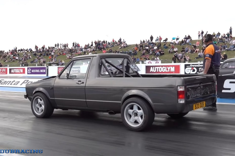 Sleepymike Racing's VW Caddy with a Turbo 24v VR6