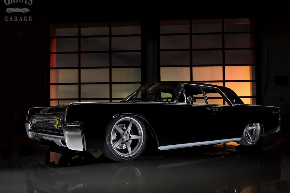 1963 Lincoln Continental built by J-Rod & Custom with a 427 ci V8