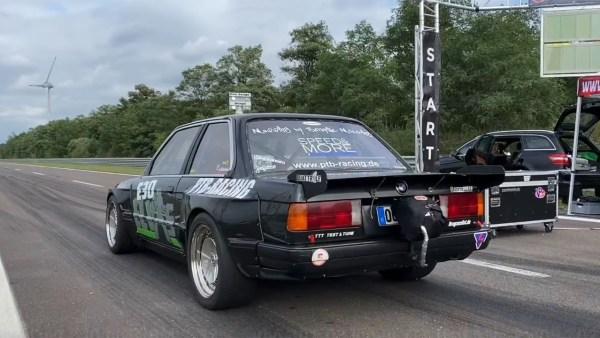BMW E30 with a turbocharged M50 inline-six