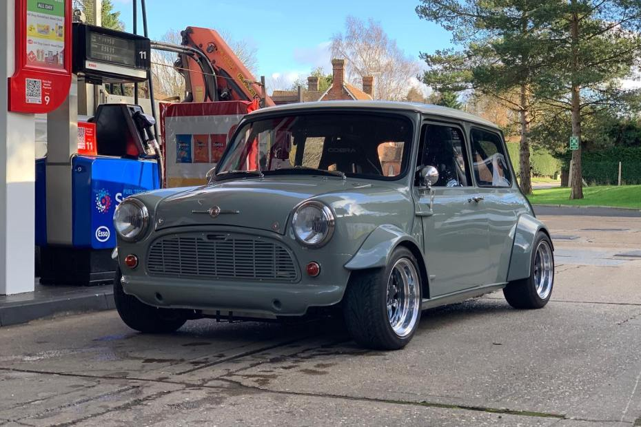 Mini built by Z Cars with a turbo 2.0 L Ecoboost inline-four