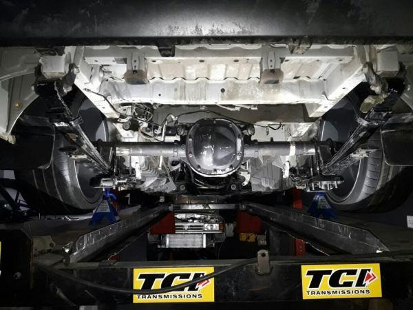 Toyota Quantum HiAce van with a mid-engine twin-turbo 1GZ V12