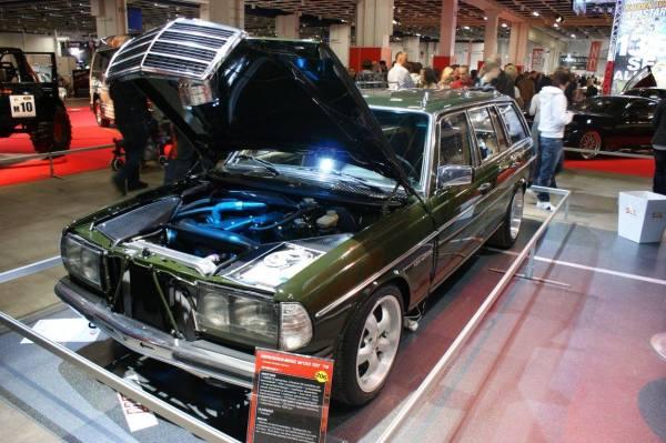 Mercedes W123 built by Valtonen Motorsport with a turbo OM606 inline-six
