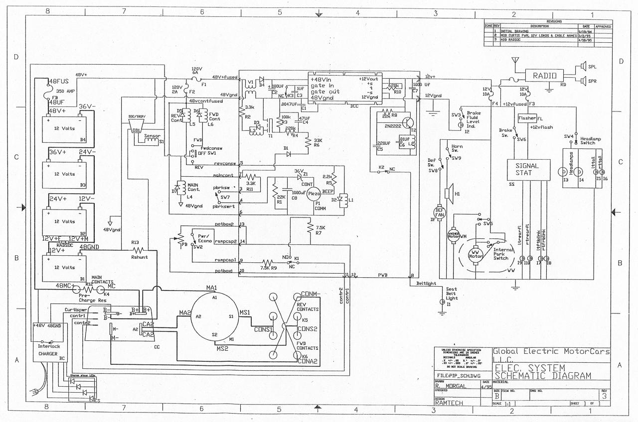 2010 gem car battery wiring diagram