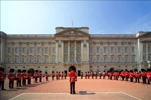 Buckingham Palace in London fr Touristen  Tipps  Information  Besucher Infos  Anfahrt