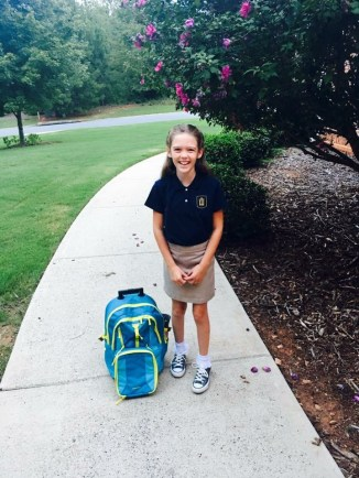 First Day of Fifth Grade