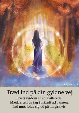 Træd ind på din gyldne vej