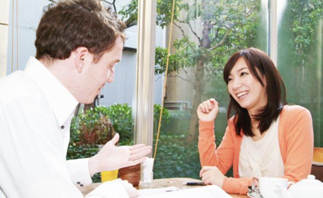 マンツーマン英会話をカフェで!ABCから.com福岡