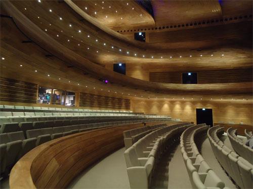 Bahrain National Theatre, main hall (photo: Ati Metwaly)