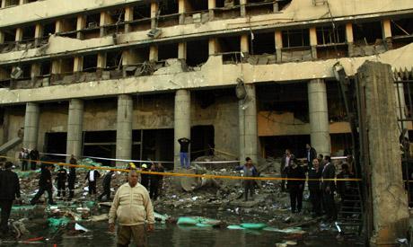 the Cairo security headquarters