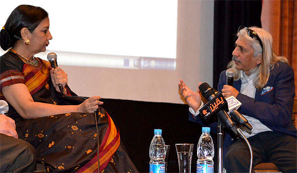 Shabana Azmi and Sanjoy Roy