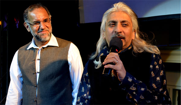 Navdeep Suri and Sanjoy Roy