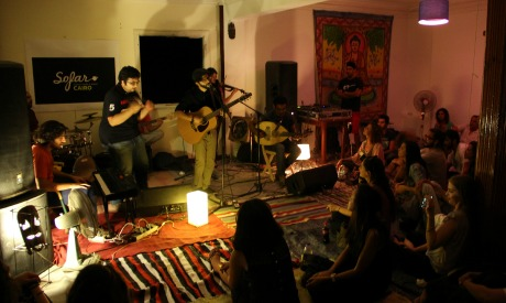 Independent Music Goes Live From A Living Room In Cairo Music Arts Culture Ahram Online