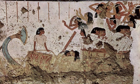 mujeres egipcias antiguas