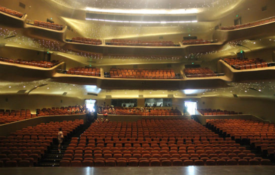 Guangzhou Opera House, main hall, China