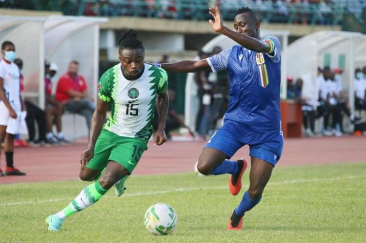 Nigeria v Central Africa. Central Africa stunned Nigeria with a 1-0 win last week