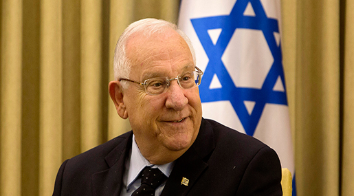 """Israeli"" entity's so-called President Reuven Rivlin"
