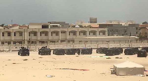 Bahraini regime tanks