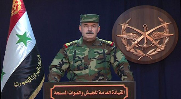 Syrian Arab Army spokesperson
