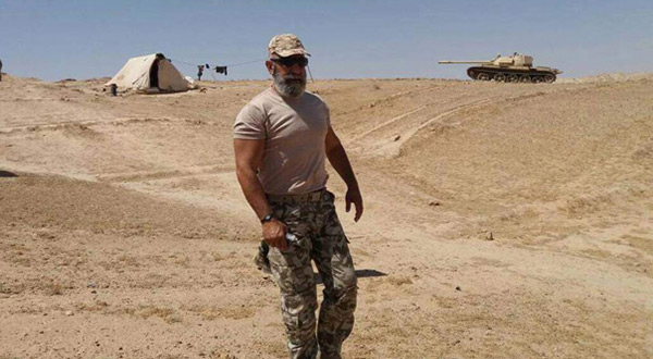 Major General Issam Zaherddine in the Syrian Army
