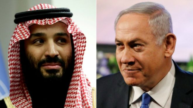 MBS and Netanyahu