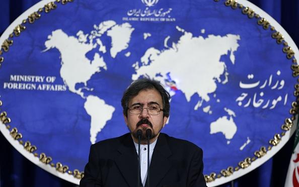 Iranian Foreign Ministry Spokesman Bahram Qasemi's