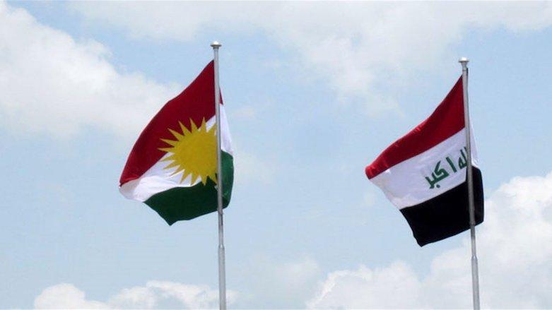 Iraq Kurdistan flags