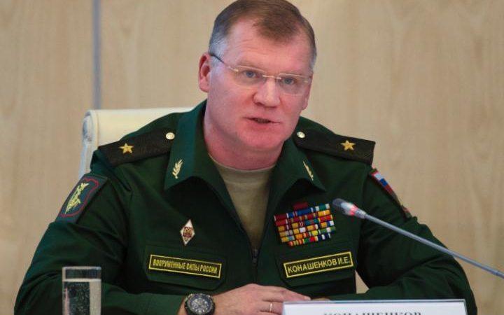 Russian military spokesman, Igor Konashenko