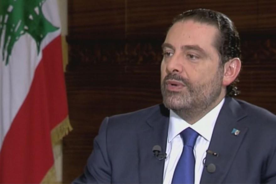 Lebanese Premier Saad Hariri