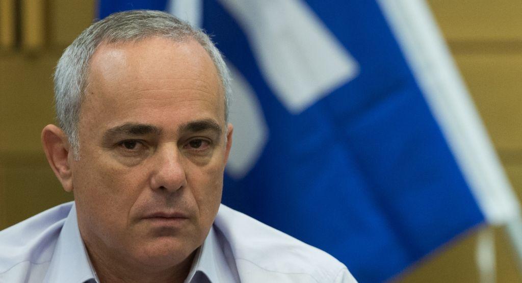 Israeli Energy Minister Yuval Steinitz