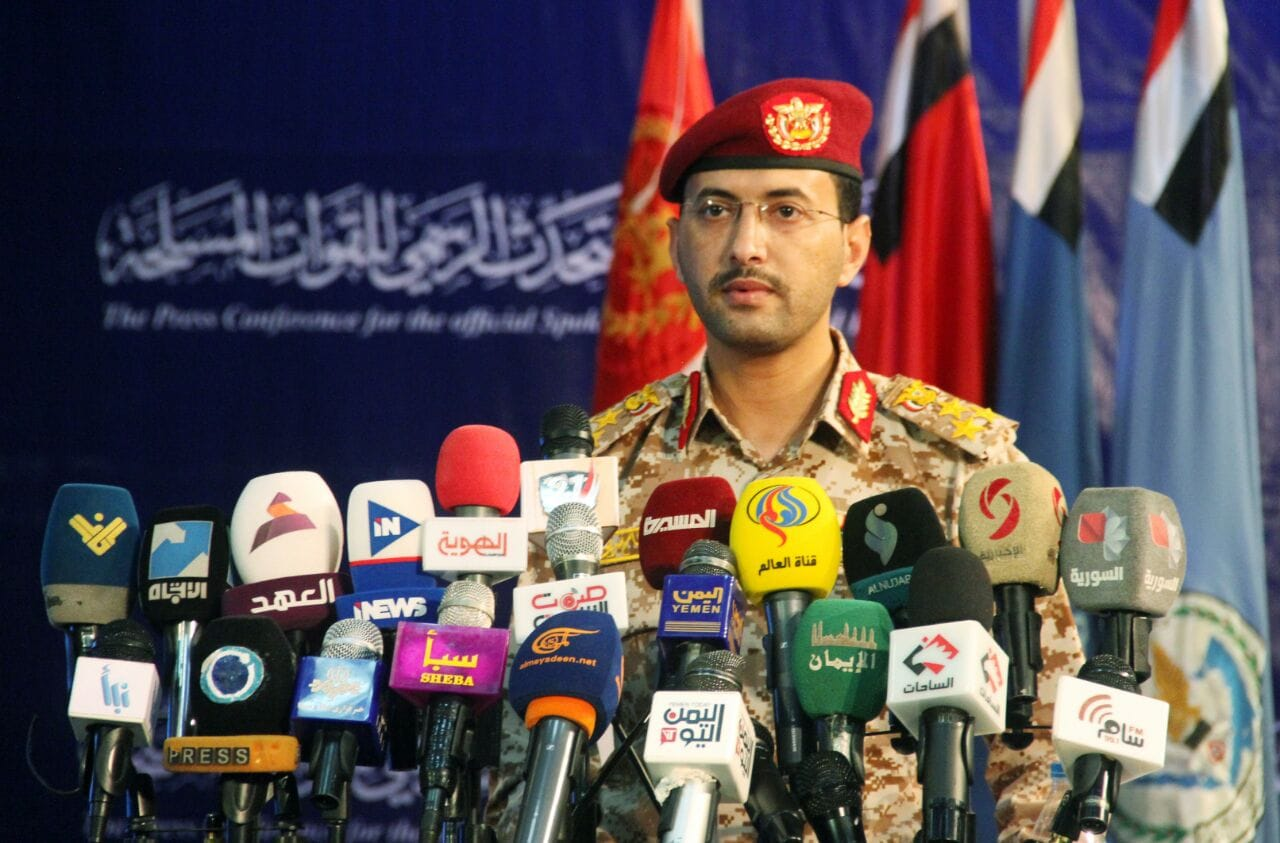 Spokesman of Yemeni Armed Forces Brigadier General Yahya Saree