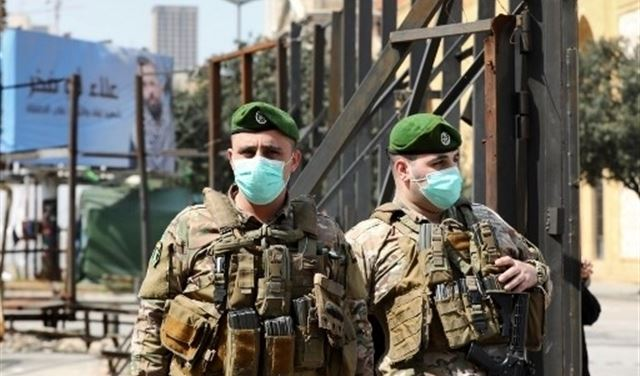 Lebanese Army coronavirus
